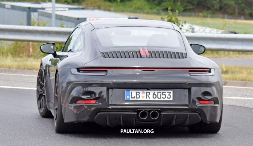 SPIED: 992 Porsche 911 GT3 Touring undisguised Image #1155662