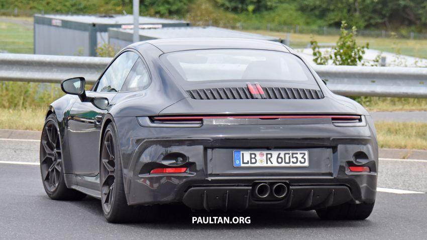 SPIED: 992 Porsche 911 GT3 Touring undisguised Image #1155660
