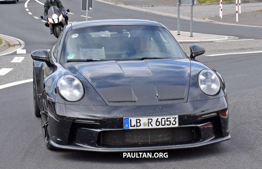 SPIED: 992 Porsche 911 GT3 Touring undisguised Image #1155658