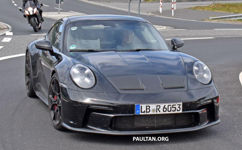SPIED: 992 Porsche 911 GT3 Touring undisguised Image #1155657