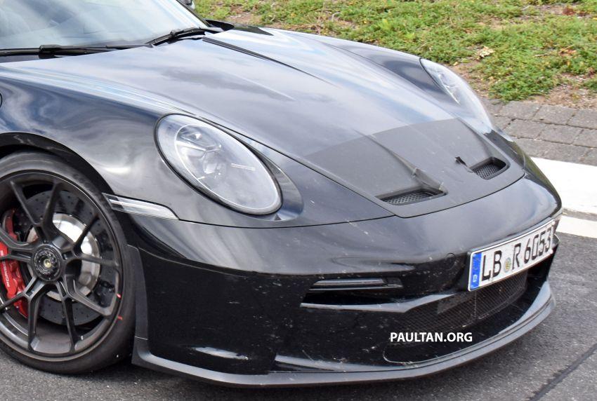 SPIED: 992 Porsche 911 GT3 Touring undisguised Image #1155655