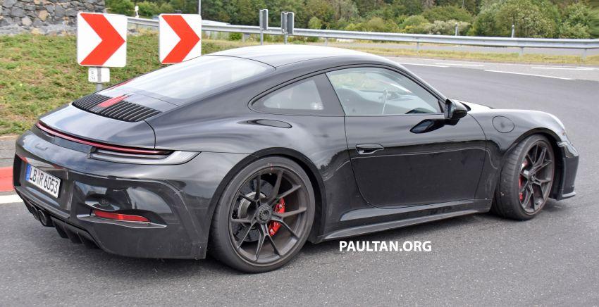 SPIED: 992 Porsche 911 GT3 Touring undisguised Image #1155653