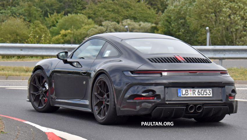 SPIED: 992 Porsche 911 GT3 Touring undisguised Image #1155650