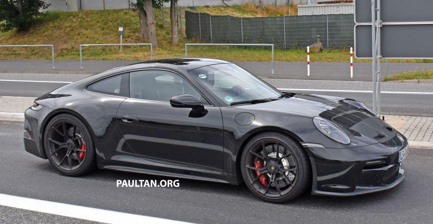 SPIED: 992 Porsche 911 GT3 Touring undisguised Image #1155670