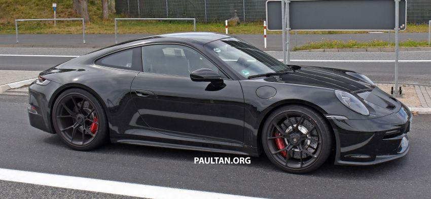 SPIED: 992 Porsche 911 GT3 Touring undisguised Image #1155669