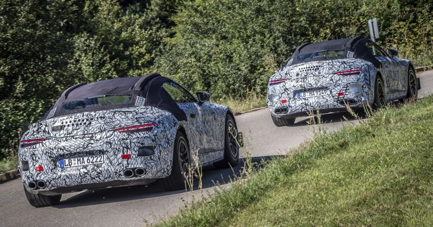 R232 Mercedes-Benz SL teased – AMG takes over Image #1168406