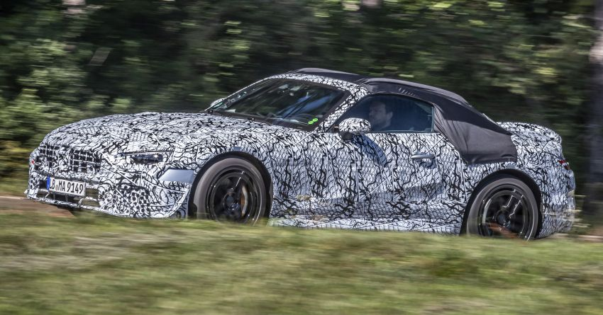 R232 Mercedes-Benz SL teased – AMG takes over Image #1168409