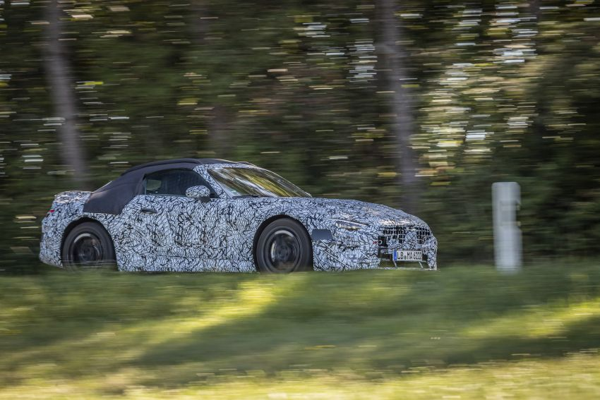 R232 Mercedes-Benz SL teased – AMG takes over Image #1168411
