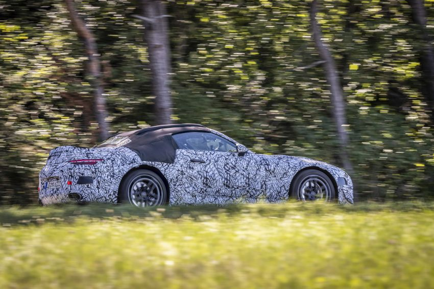 R232 Mercedes-Benz SL teased – AMG takes over Image #1168412