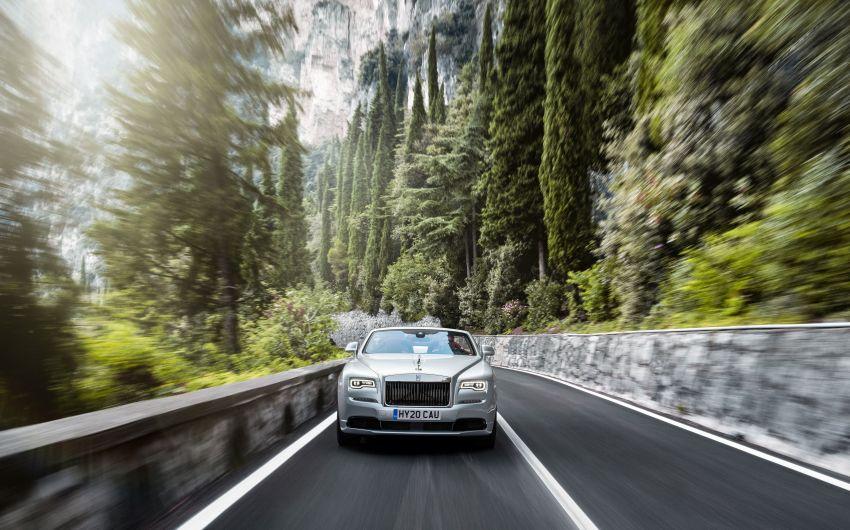 Rolls-Royce Dawn Silver Bullet – 2-seater, 50-unit LE Image #1167369
