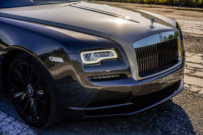 Rolls-Royce Wraith Eagle VIII – LE marks first non-stop transatlantic flight, 1 of 50 sold for RM3.3m in Malaysia Image #1159971