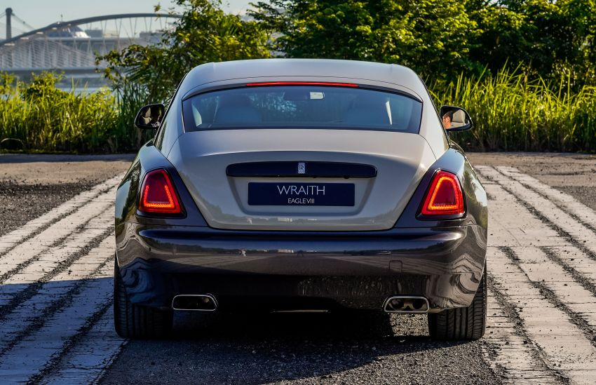 Rolls-Royce Wraith Eagle VIII – LE marks first non-stop transatlantic flight, 1 of 50 sold for RM3.3m in Malaysia Image #1159974