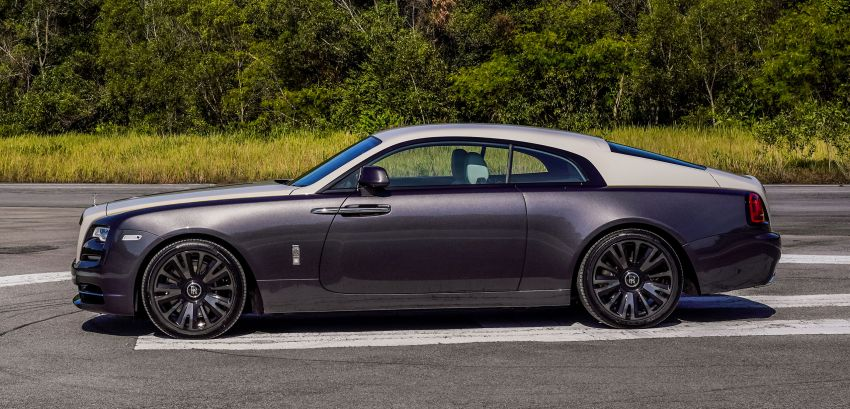 Rolls-Royce Wraith Eagle VIII – LE marks first non-stop transatlantic flight, 1 of 50 sold for RM3.3m in Malaysia Image #1159978
