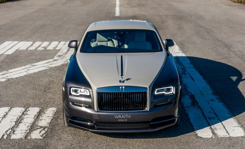 Rolls-Royce Wraith Eagle VIII – LE marks first non-stop transatlantic flight, 1 of 50 sold for RM3.3m in Malaysia Image #1159986