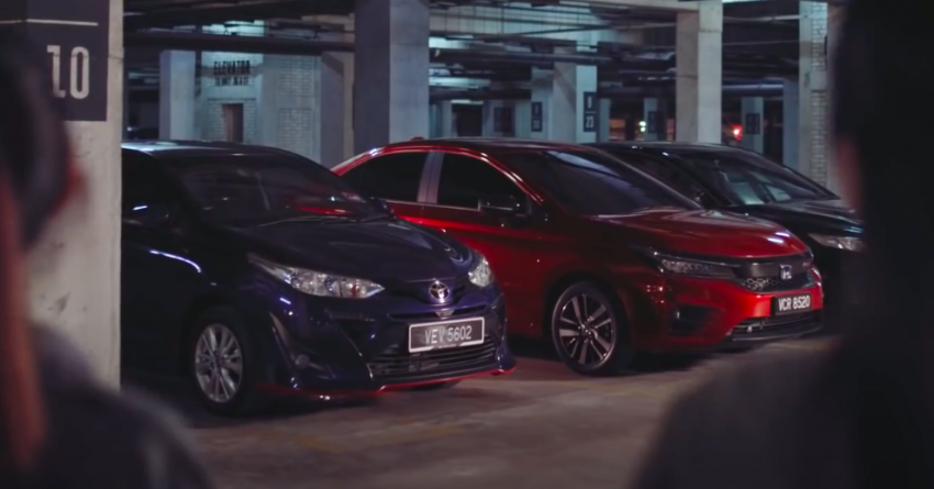 VIDEO: 2020 Honda City RS i-MMD hybrid ad takes a swipe at Toyota Vios, Camry and Perodua Bezza Image #1160841