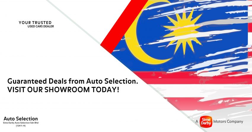 AD: Sime Darby Auto Selection Merdeka Specials from August 7-9 – enjoy great deals on pre-owned models Image #1156497