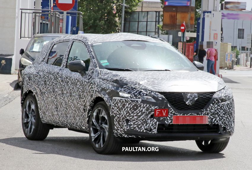 SPYSHOTS: Third-gen Nissan Qashqai spotted testing Image #1159761