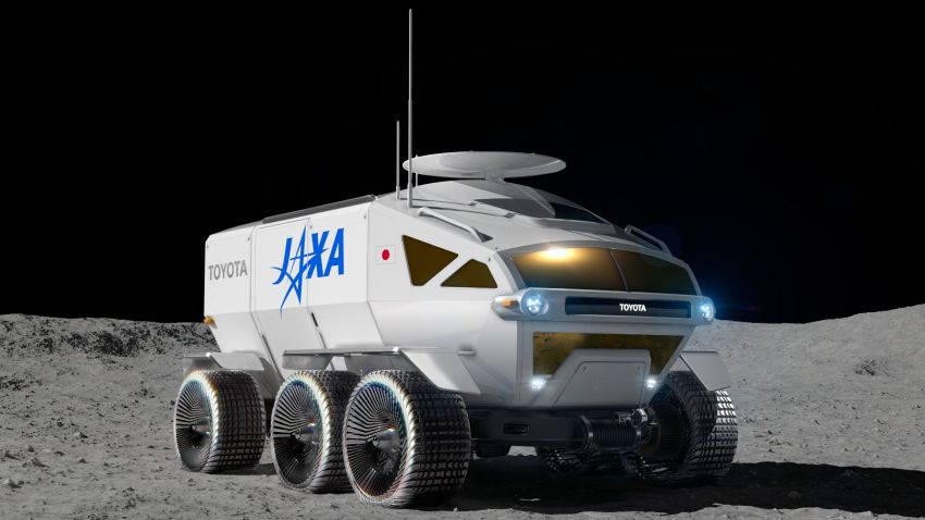 Toyota Lunar Cruiser – pressurised lunar rover jointly developed with JAXA gets a nickname; 2029 launch Image #1168774