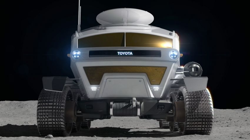 Toyota Lunar Cruiser – pressurised lunar rover jointly developed with JAXA gets a nickname; 2029 launch Image #1168776
