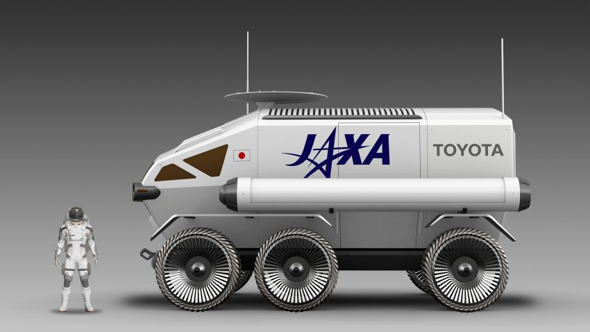 Toyota Lunar Cruiser – pressurised lunar rover jointly developed with JAXA gets a nickname; 2029 launch Image #1168777