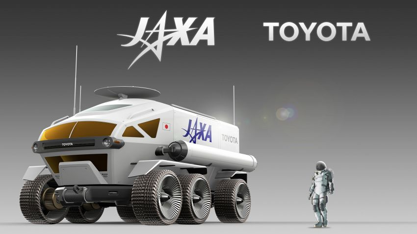 Toyota Lunar Cruiser – pressurised lunar rover jointly developed with JAXA gets a nickname; 2029 launch Image #1168780