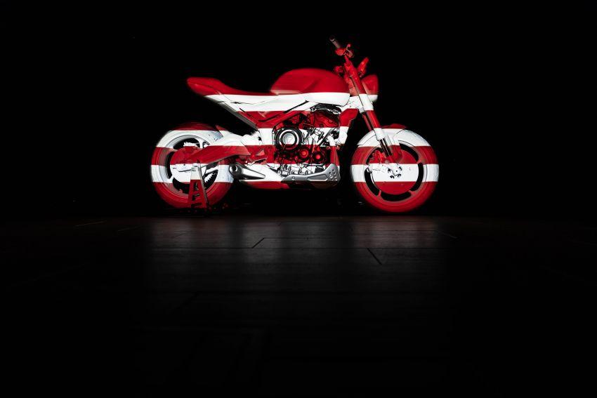Triumph Trident Prototype – petunjuk model produksi yang akan dilancar tahun depan, enjin tiga silinder Image #1166550