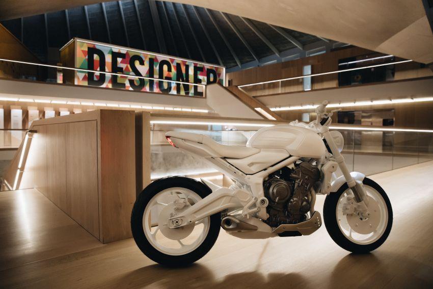 Triumph Trident Prototype – petunjuk model produksi yang akan dilancar tahun depan, enjin tiga silinder Image #1166553