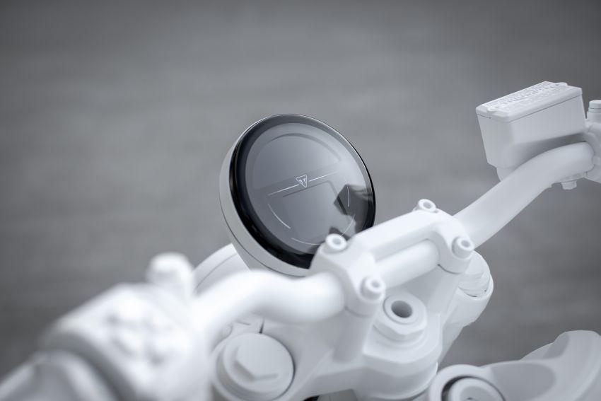 Triumph Trident Prototype – petunjuk model produksi yang akan dilancar tahun depan, enjin tiga silinder Image #1166561