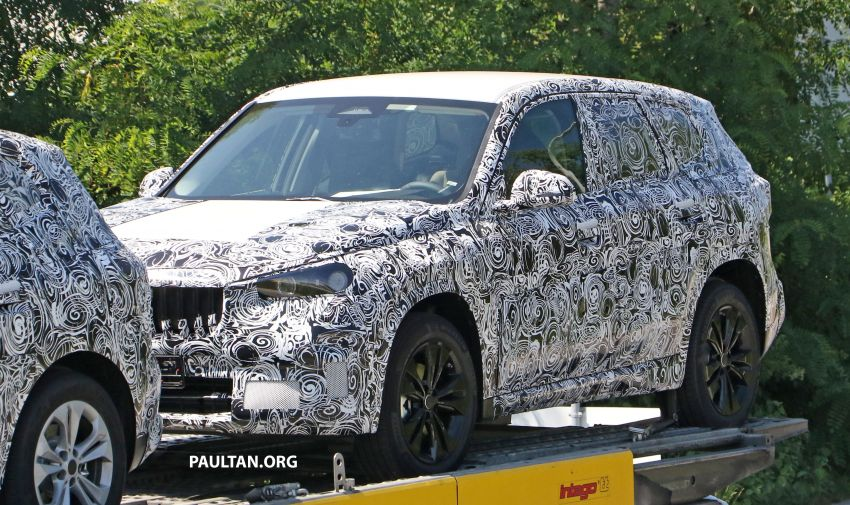 SPYSHOTS: next BMW X1 seen; to spawn iX1 pure EV Image #1160507
