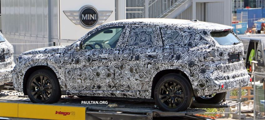 SPYSHOTS: next BMW X1 seen; to spawn iX1 pure EV Image #1160495
