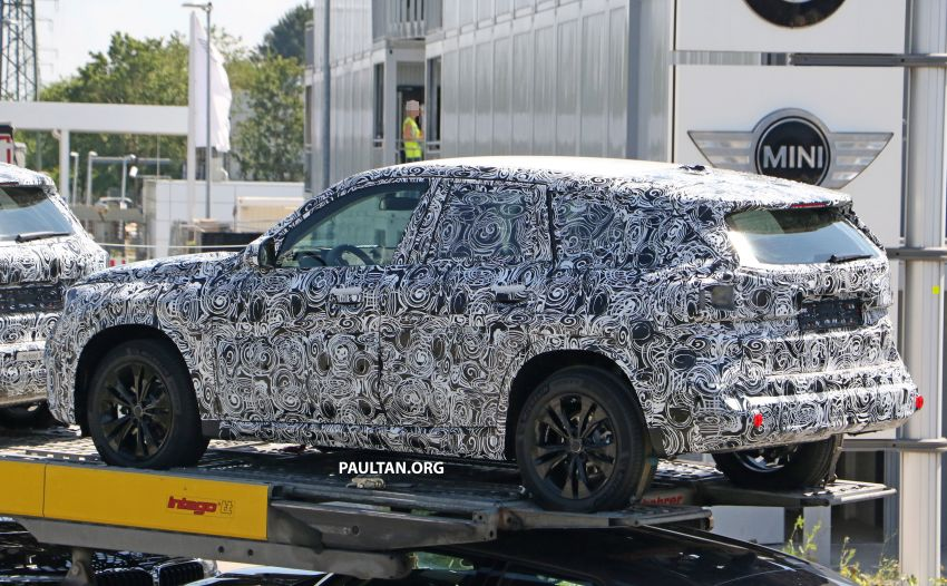 SPYSHOTS: next BMW X1 seen; to spawn iX1 pure EV Image #1160494