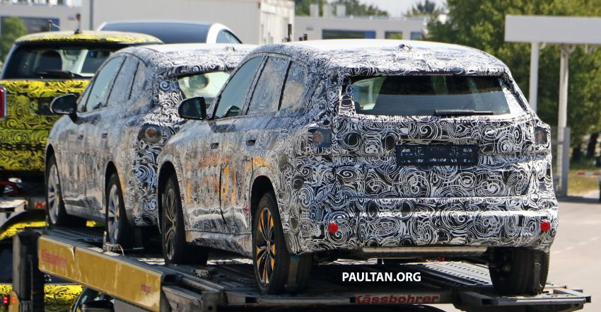 SPYSHOTS: next BMW X1 seen; to spawn iX1 pure EV Image #1160491