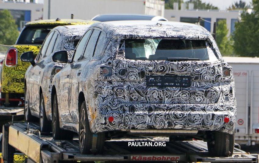 SPYSHOTS: next BMW X1 seen; to spawn iX1 pure EV Image #1160490