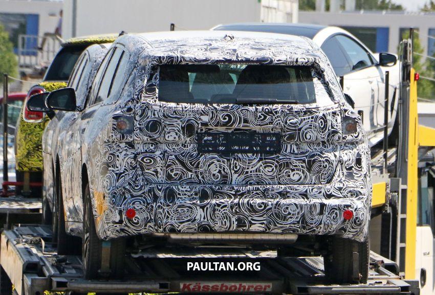 SPYSHOTS: next BMW X1 seen; to spawn iX1 pure EV Image #1160489