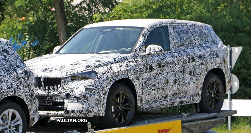 SPYSHOTS: next BMW X1 seen; to spawn iX1 pure EV Image #1160506