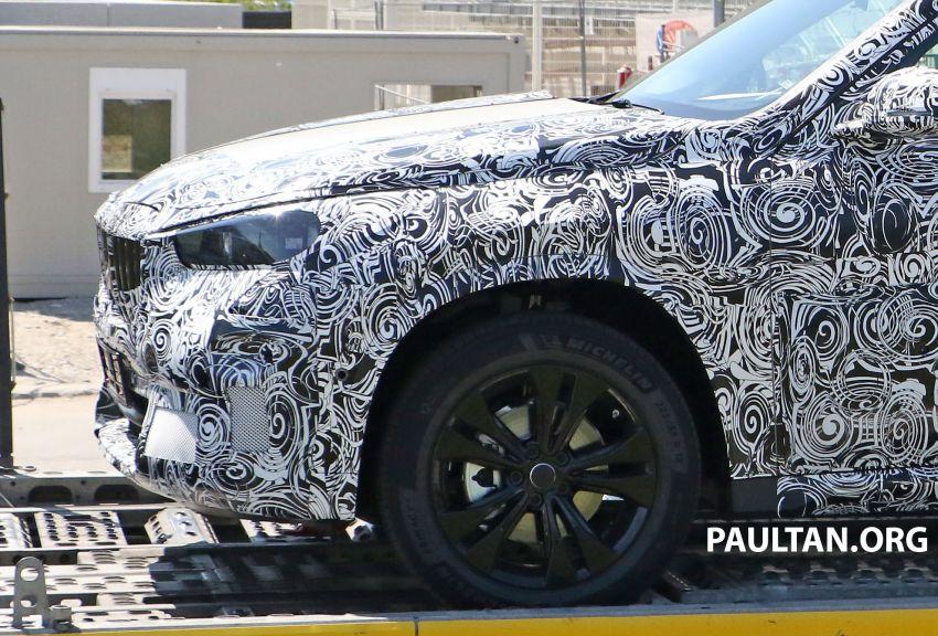 SPYSHOTS: next BMW X1 seen; to spawn iX1 pure EV Image #1160501