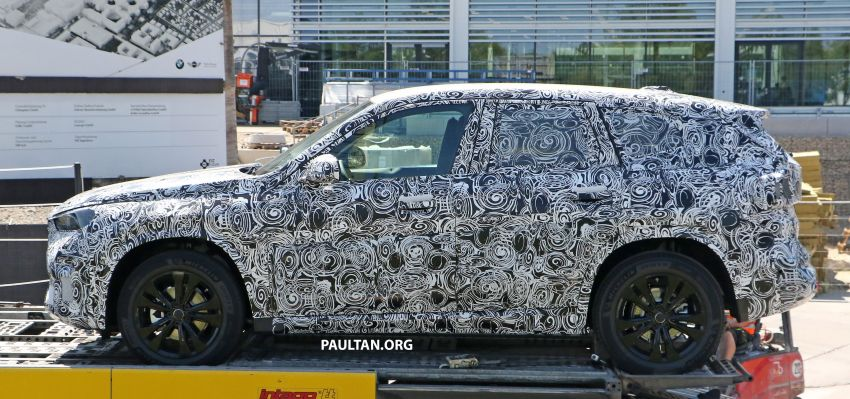 SPYSHOTS: next BMW X1 seen; to spawn iX1 pure EV Image #1160499