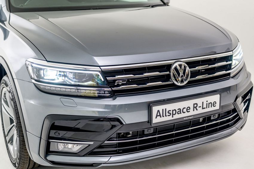 Volkswagen Tiguan Allspace launched in Malaysia – 1.4 TSI Highline, 2.0 TSI R-Line 4Motion, from RM165k Image #1158777