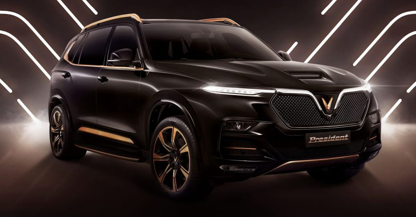 VinFast President officially revealed – limited-edition V8-powered SUV based on the LUX SA2.0; 6.2L, 455 hp Image #1157131