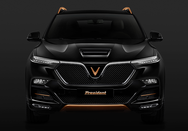 VinFast President officially revealed – limited-edition V8-powered SUV based on the LUX SA2.0; 6.2L, 455 hp Image #1157134