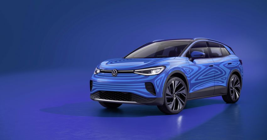 Volkswagen ID.4 – low aero drag crucial to efficiency Image #1168784