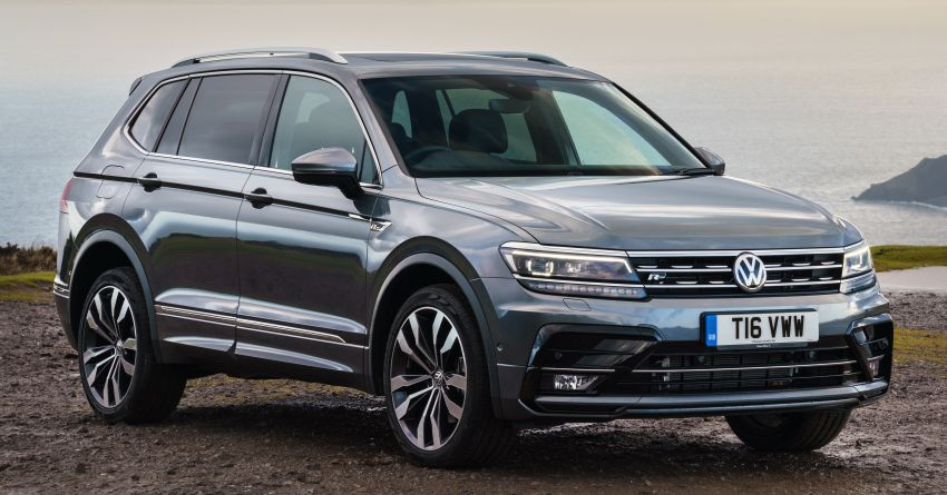 2020 Volkswagen Tiguan Allspace to be launched in Malaysia on Aug 12 – seven-seater, R-Line & Highline Image #1157436