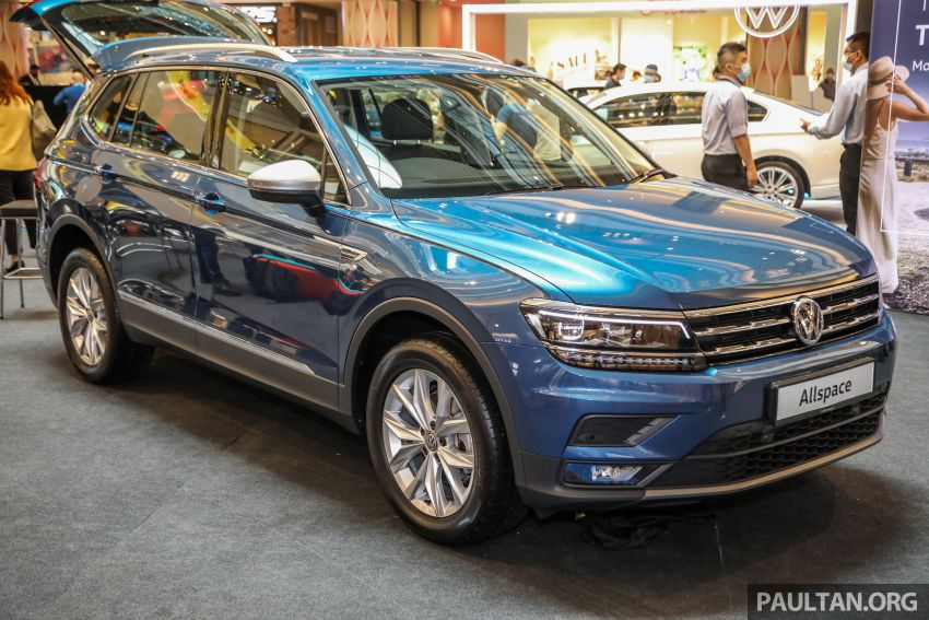 Volkswagen Tiguan Allspace launched in Malaysia – 1.4 TSI Highline, 2.0 TSI R-Line 4Motion, from RM165k Image #1159285