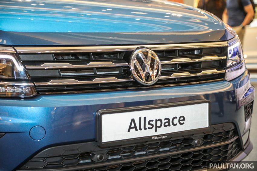 Volkswagen Tiguan Allspace launched in Malaysia – 1.4 TSI Highline, 2.0 TSI R-Line 4Motion, from RM165k Image #1159296