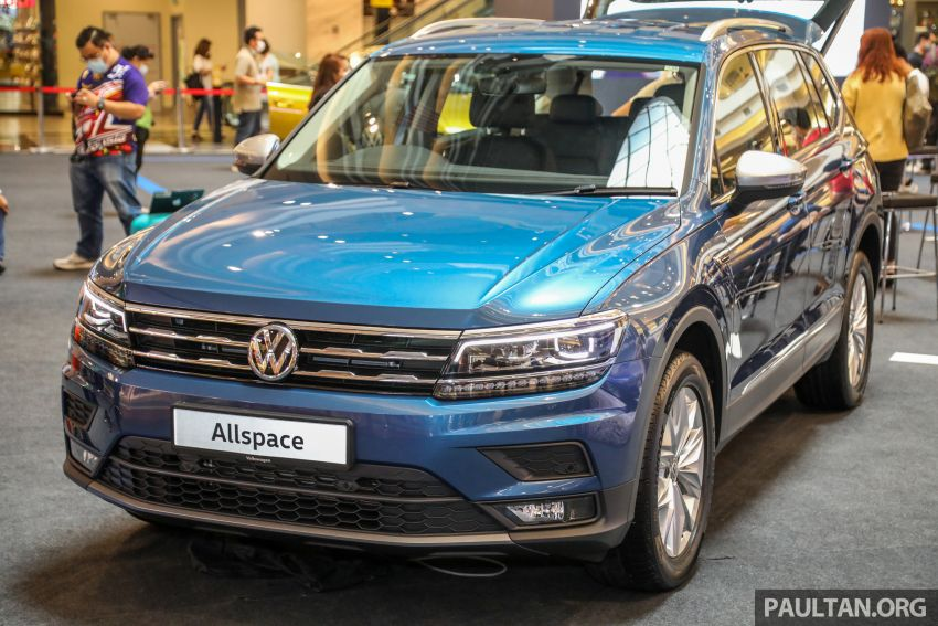 Volkswagen Tiguan Allspace launched in Malaysia – 1.4 TSI Highline, 2.0 TSI R-Line 4Motion, from RM165k Image #1159286