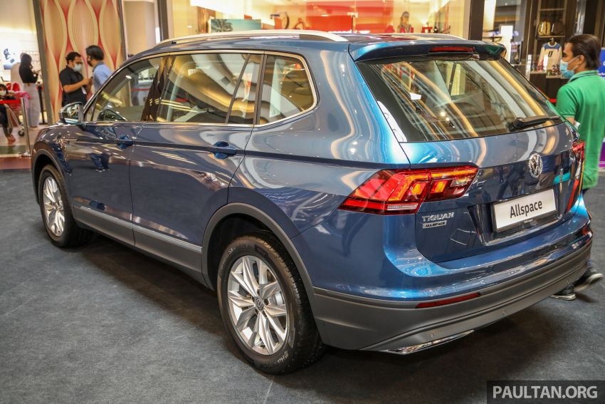 Volkswagen Tiguan Allspace launched in Malaysia – 1.4 TSI Highline, 2.0 TSI R-Line 4Motion, from RM165k Image #1159287