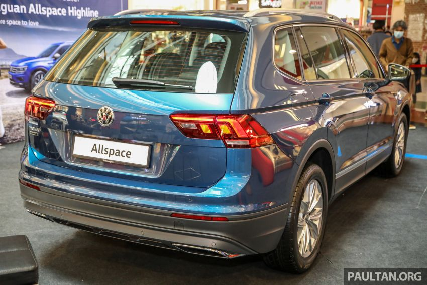 Volkswagen Tiguan Allspace launched in Malaysia – 1.4 TSI Highline, 2.0 TSI R-Line 4Motion, from RM165k Image #1159288