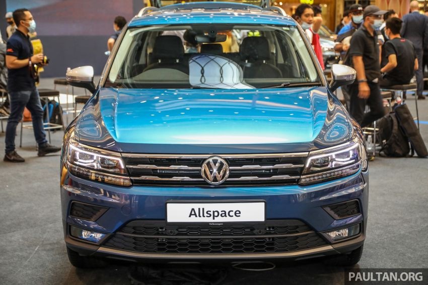 Volkswagen Tiguan Allspace launched in Malaysia – 1.4 TSI Highline, 2.0 TSI R-Line 4Motion, from RM165k Image #1159289