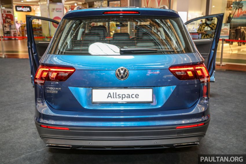 Volkswagen Tiguan Allspace launched in Malaysia – 1.4 TSI Highline, 2.0 TSI R-Line 4Motion, from RM165k Image #1159290