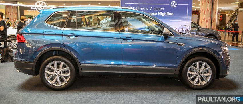 Volkswagen Tiguan Allspace launched in Malaysia – 1.4 TSI Highline, 2.0 TSI R-Line 4Motion, from RM165k Image #1159291